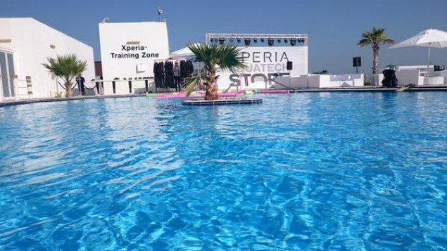 Открытие магазина  Sony Xperia Aquatech - фотографии