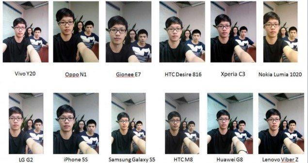 Тест фронтальной камеры и фото Sony Xperia C3 - лучший смарфтон для селфи