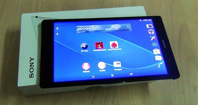 Мощный планшет Sony Xperia Z3 Tablet Compact - видео обзоры
