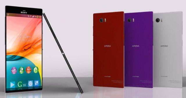 Представление о дизайне Sony Xperia Z4 и Xperia Z4 Ultra