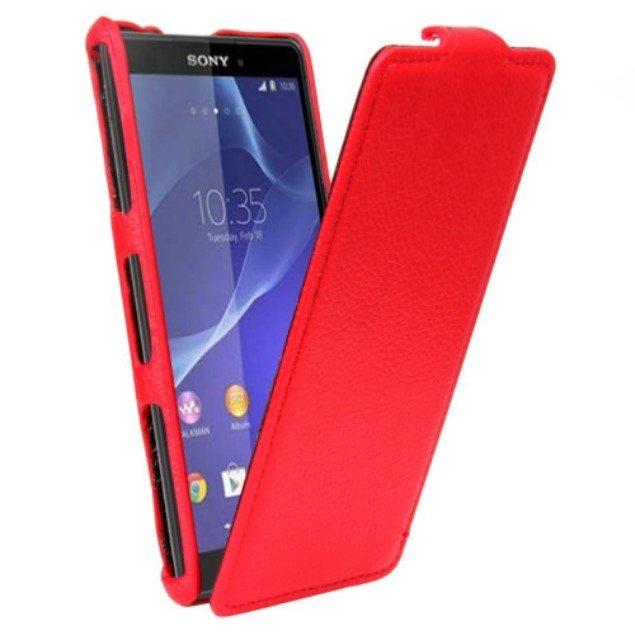 Чехол из кожи для Sony Xperia Z3 Compact