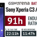 Тест аккумулятора Sony Xperia C3 Dual – обзор результатов