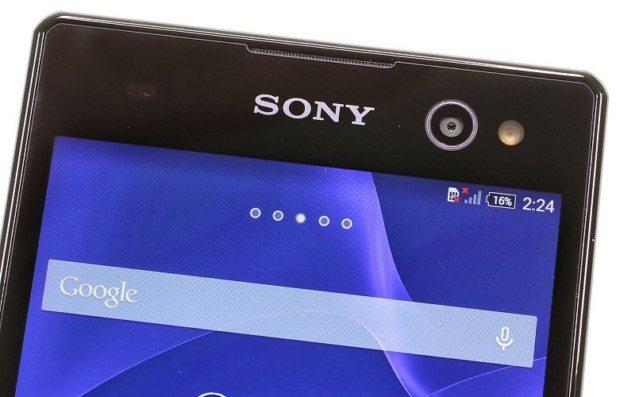 Обзор Sony Xperia C3 - дизайн смарфтона