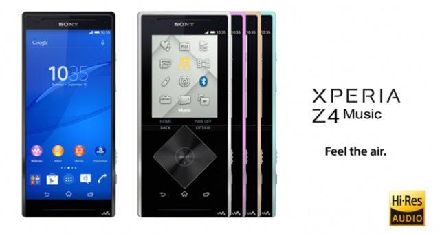 Утечка фото и характеристик Sony Xperia Z4 Music