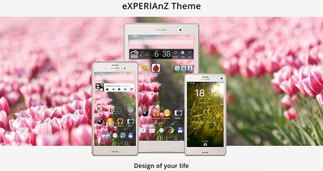 Тема Весна для Sony Xperia Z3, Z2, Z1, Compact, Z, ZR, ZL, M2, C, T2, T3, SP, C3 Ultra