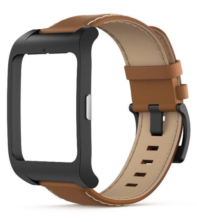 Кожаный браслет для SmartWatch 3