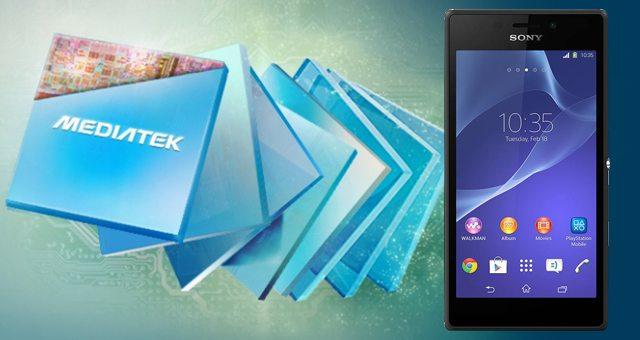 Среднеклассовые смартфоны Sony получат процессоры MediaTek
