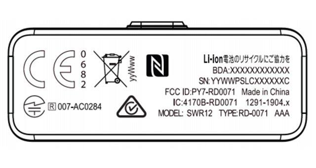 Новый умный браслет Sony SmartBand SWR12 прошел сертификацию