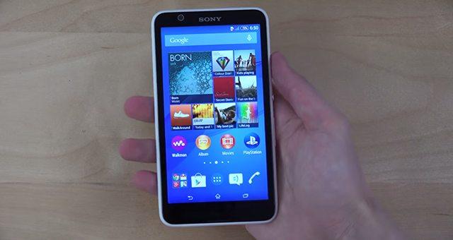 Sony-Xperia-E4-video