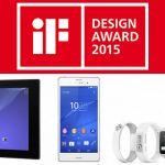Sony получает награды в конкурсе IF Design Aword 2015