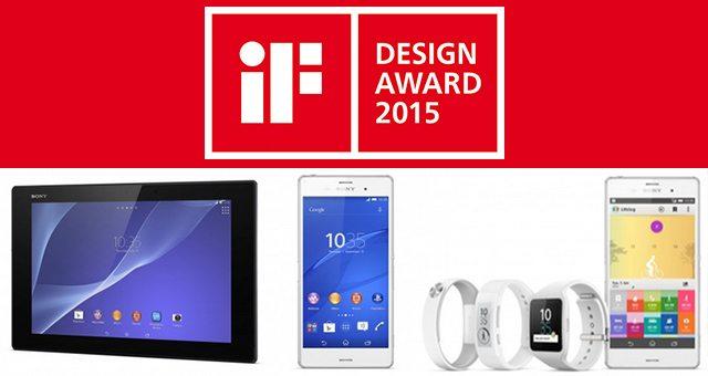 Sony получает награды за лучший дизайн в конкурсе IF Design Aword 2015