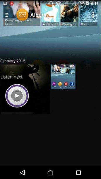 Интерфейс Android 5.0.2 Lollipop на Sony Xperia Z4 Dual и Xperia Z3 - утечка скриншотов