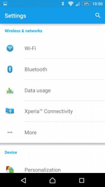 Xperia Z3 и Xperia Z3 Comapct начинают получать Android