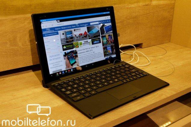 Bluetooth-клавиатура BKB50 для Sony Xperia Z4 Tablet