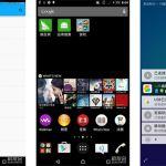 Появились скриншоты Xperia C3 с Lollipop