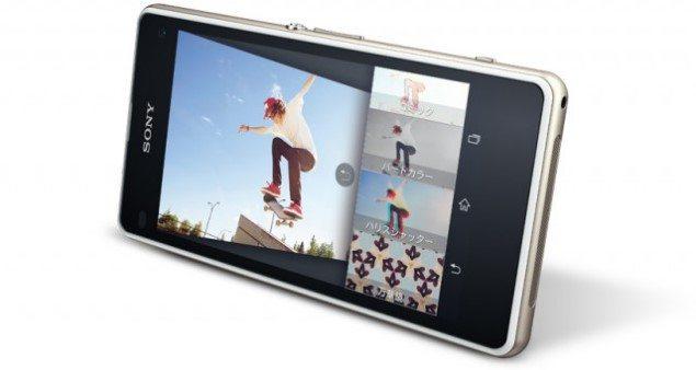 Смартфон Sony Xperia J1 Compact для японского рынка