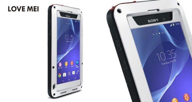 Прочный чехол для Sony Xperia Z2 устойчивый к ударам, падениям и воде