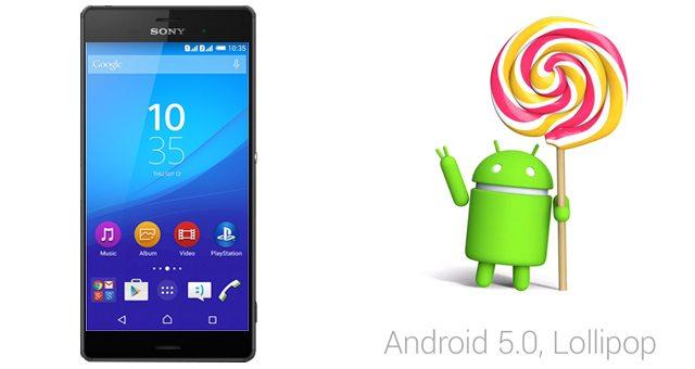 Тестирование Android Lollipop для Сони Иксперия Z подходит к концу