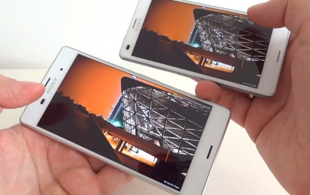 Сравнение Sony Xperia Z3 vs Xperia Z3 Compact