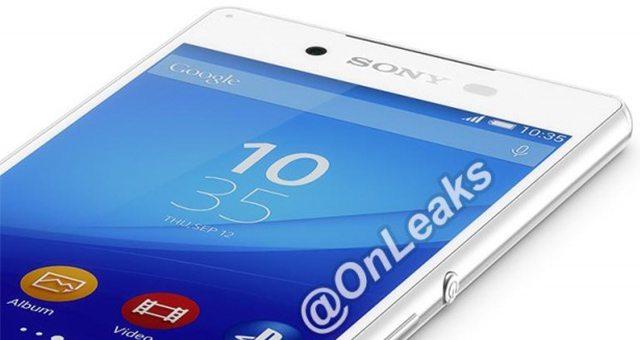 Sony Xperia Z4 - пресс-фото