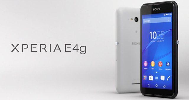 Дата выхода Sony Xperia E4g и цена в России