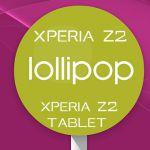 Линейка Xperia Z2 начала обновляться до Lollipop! Z3 Dual, линейка Xperia Z1, Z Ultra на очереди