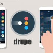 Drupe – быстрый доступ к контактам для Sony Xperia Z3, Z2, Z1, Compact, M4, Z, ZR, ZL, M2, C3, T2, T3, Ultra