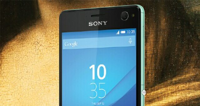 Фото рендер Sony Xperia C4