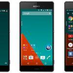 Тема Xperia Stock Lollipop – оформление чистого Android на Сони Иксперия