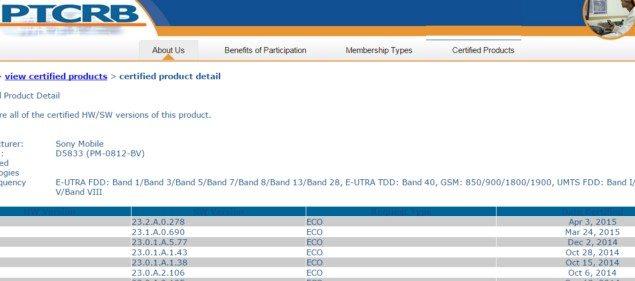 Xperia Z3 (D6653) и Z3 Compact (D5833) прошивка 23.2.A.0.278