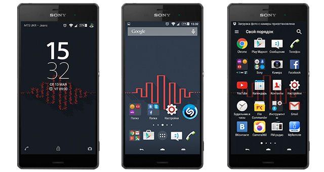 Новая тема Dainty для Sony Xperia Z3, Z2, Z1, Compact, M4, Z, ZR, ZL, M2, C3, T2, T3, Ultra