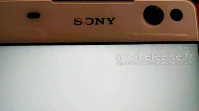 передняя панель Sony Lavender