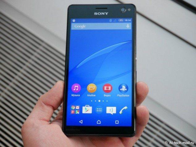 Фото Sony Xperia C4 - дизайн и эргономика