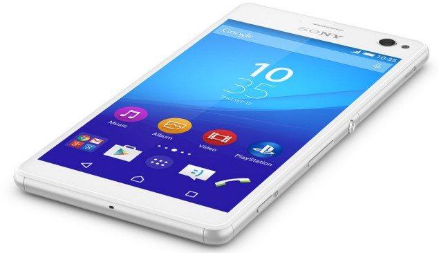 Смартфон Sony Xperia C4 - характеристики, дизайн, камера
