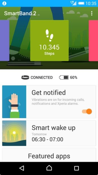 новости о браслете Sony SmartBand 2 SWR12