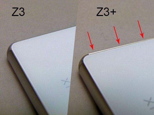 Sony Xperia Z3+ не такой скользкий как Xperia Z3