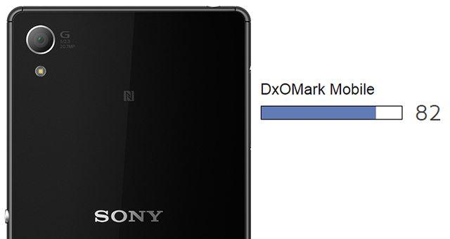 тест камеры Сони Иксперия Z3 Плюс в DxOMark