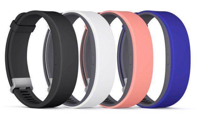 Браслет Sony SmartBand 2 - фото, характеристики, цена
