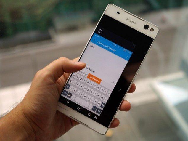 фото Sony Xperia C5 Ultra и фото Sony Xperia M5 - характеристики смартфонов