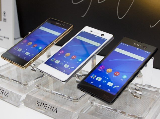 смартфон Sony Xperia M5 фотосмартфон Sony Xperia M5 фото