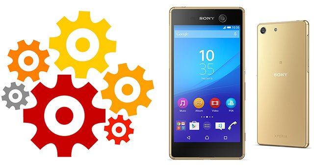 Подробные технические характеристики Sony Xperia M5