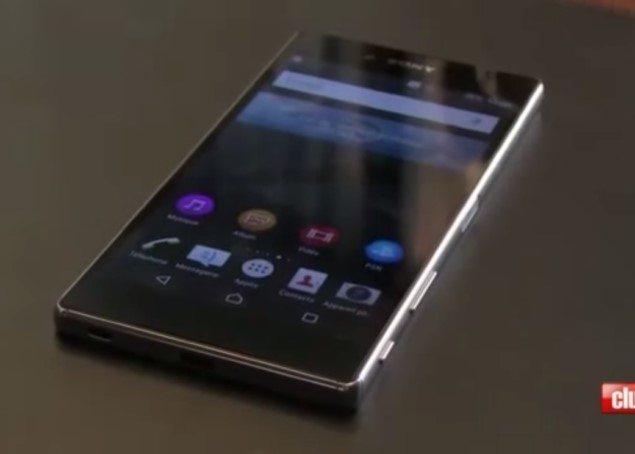 параметры Xperia Z5 и Z5 Premium - видео