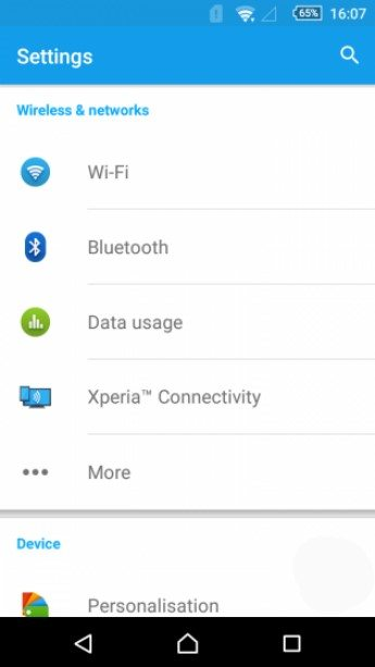 Android 5.1 Lollipop (14.6.A.0.368) для Xperia Z1, Z1 Compact, Z Ultra
