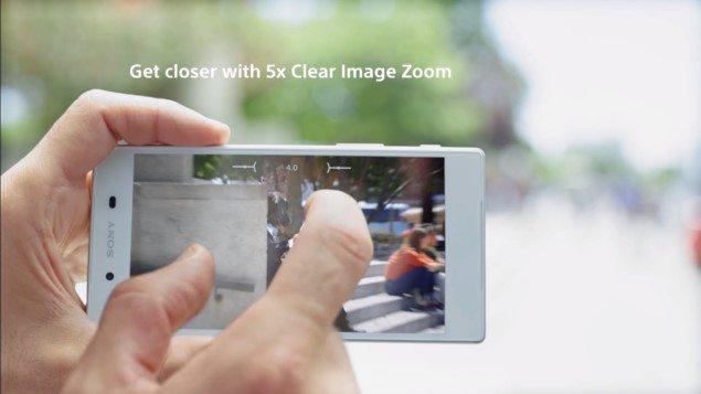 обзор нового интерфейса камеры Сони Иксперия Z5