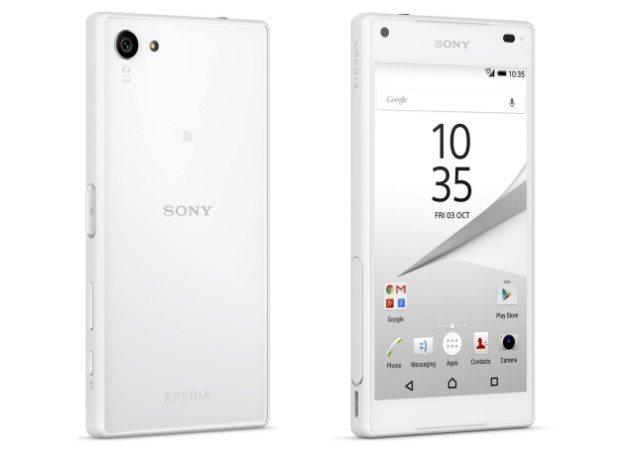 Sony Xperia Z5 Compact видео и фото