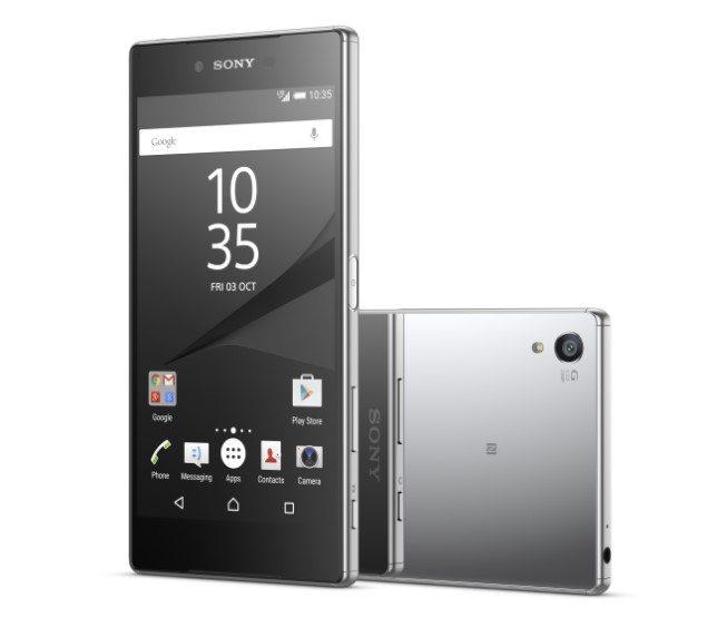 Sony Xperia Z5 Premium видео и фото