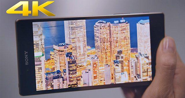 Sony Xperia Z5 Premium 4K и Full HD