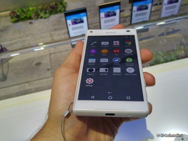 Фото Sony Xperia Z5 Compact