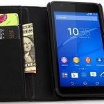Чехол для Sony Xperia E4g Dual из кожи