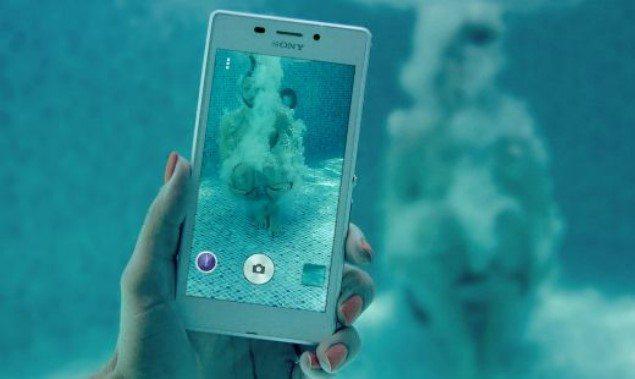 водонепроницаемый Sony Xperia M2 Aqua